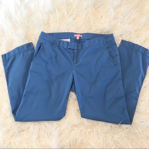 4/$25 Lilly Pulitzer blue cropped trousers